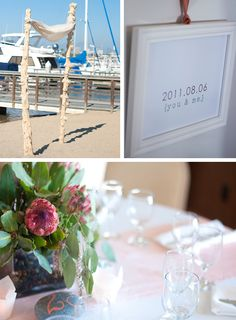Beachy, Newport Wedding — by Midtown Design & Events {photography by michael radford}