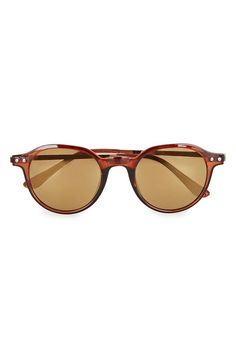 4d3e12b645be3 Topman 45mm Round Sunglasses