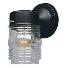 Designers Fountain Outdoor 2061 Porch Jelly Jar Wall Light - Outdoor Wall Lights at Hayneedle