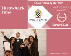 Today is throwback time to February 2020 when Darver Castle was thrilled to have won Weddings On-Line Castle Venue of the Year. The team had a very enjoyable night (as you can see😆) and wishing they could do it all again. #FunTimes #castlevenueoftheyear20 #Accommodation #darvercastle #irishcastles #weddinginspo #marriage #love #weddingplanning #engagement #exclusive #dreamwedding #weddingshowcase #weddingvenuesireland #destintationwedding #civilceremony Brewing Tea, Civil Ceremony, Simply Beautiful, Dreaming Of You, Wedding Venues, February, How To Memorize Things, Wedding Planning, Awards