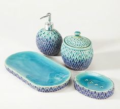 Teal Bathroom Accessories
