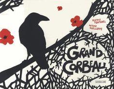 Livres Ouverts : Grand corbeau