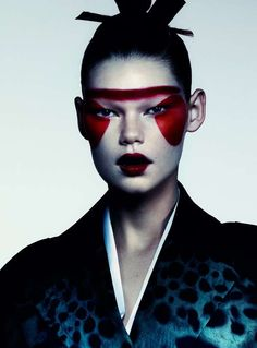 Sleek Samurai Editorials - The Flair Italia Caught Inside Photoshoot Displays Asian Styles (GALLERY)