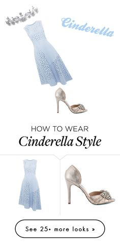 """Cinderella"" by hillarytran on Polyvore featuring Whistles, Bling Jewelry and Betsey Johnson"