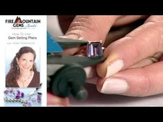 How To Use Gem Setting Pliers with Arbel Shemesh.
