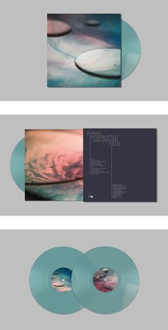 Amie_Herriott // Piano Interrupted // The Unified Field // Vinyl sleeve // Album  Artwork & Photography