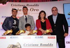 Cristiano, su hijo, su hermano, su madre y el compañero de Dolores