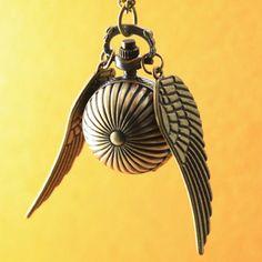 Brass Snitch Pendant