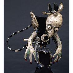 Gremlin camera headdress by Ronald Cobb for Eve Club