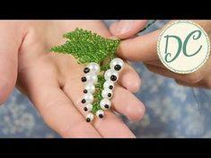 Елочка из бисера игольчатой техникой плетения. Мастер-класс. //Herringbone Bead - YouTube