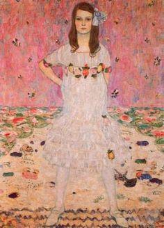 G klimt  Portrait of Mäda Primavesi, 1912