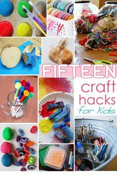 15 Craft Hacks for Kids - Kids Activities Blog