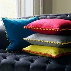Felt Gypsy Cushions - Cushions - Soft Furnishings - Sofas & Upholstery - Graham and Green