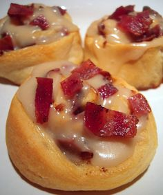 Maple-Bacon rolls - a must try!