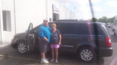 LORI's new 2016 CHRYSLER TOWN&COUNTRY! Congratulations and best wishes from Kunes Country Auto Group of Sterling and James Henderson.