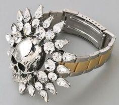 skull jewelry by Tom Binns