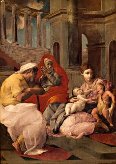 Francesco Primaticcio - Sainte famille