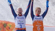 Paralympic champion Kelly Gallagher's guide Charlotte Evans misses the Para-alpine World Championships with concussion.