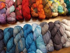 malabrigo Mechita. New Superwash Merino wool. 420 yards (384 meters) in 100 grams.