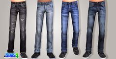 TS4 - CU Jeans - Onyx Sims
