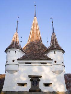 The Ecaterina's Gate on the Old City Wall, 1559, Brasov, Transylvania, Romania