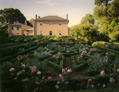 In 1805, Martha Washington's granddaughter, Martha Custis Peter, and her husband, Thomas Peter  established their estate, Tudor Place, in the hills above the port of Georgetown. Its remaining 5.5 acre gardens combine formal, naturalistic and Gardenesque design elements, and are the cumulative work of the Peter family, who occupied the estate for six generations, preserving and altering the grounds as the Federal City grew around them. Learn more at http://tclf.org/landscapes/tudor-place