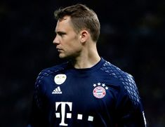 Manuel Neuer of Muenchen looks on during the DFB Cup Final 2016 between Bayern Muenchen and Borussia Dortmund at Olympiastadion on May 21, 2016 in Berlin, Germany.