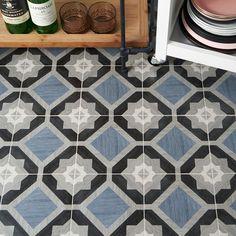 Delancey Starwood Blue 8x8 Matte Porcelain Tile Entryway Tile Floor, Tiled Hallway, Bathroom Floor Tiles, Wall And Floor Tiles, Shower Floor, Wall Tiles, Scandinavian Tile, Cleaning Tile Floors, Encaustic Tile