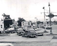 Detroit 1953  Sunoco Gas