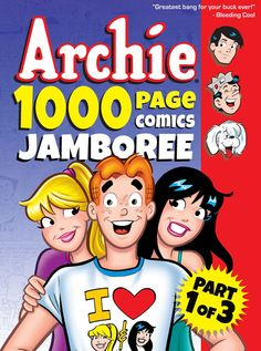 @School Library Journal Preview: Archie 1000 Page Comics Jamboree