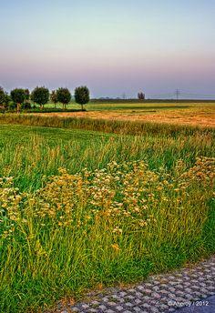 Groninger Landschap Compositie,Groningen ,the Netherlands,europe by Aheroy(2Busy), via Flickr
