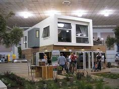 house made of containers the project