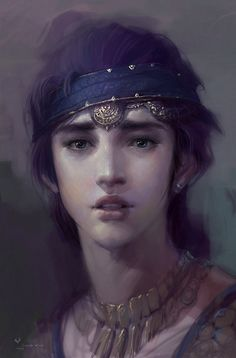 .i don't know who this is but she reminds me of princess mononoke