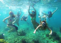 The ROXY athletes and #DAREYOURSELF winners aren't having any fun in #Fiji with their @GoPro ...nope