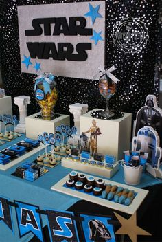 STAR WARS - 4 th Birthday Tobias Birthday Party Ideas | Photo 12 of 12