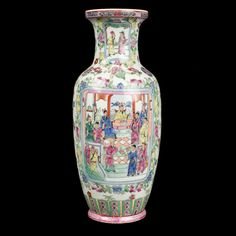 China 19./20. Jh. - A Chinese Famille Rose Porcelain Vase - Vaso Cinese Chinois