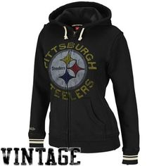Pittsburgh Steelers Ladies Hoodies and Sweatshirts are stocked at Fanatics. Display your spirit with officially licensed Pittsburgh Steelers Sweatshirts in a variety of styles from the ultimate sports store. Steelers Jacket, Steelers Gear, Steelers Stuff, Hoodie Sweatshirts, Fleece Hoodie, Hoodies, Pittsburgh Steelers Merchandise, Pittsburgh Steelers Football, Hoodie