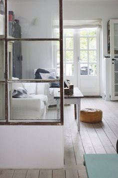 peppermags: Repurposed | Window Room Dividers