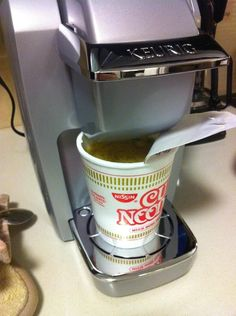 Life-Changing Tip Of The Day: Make Ramen With A Keurig