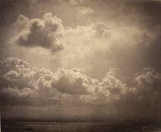 Gustave Le Gray. Marine, étude de nuages (1856 - 1857)
