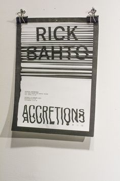 Graphic Design typography glitch