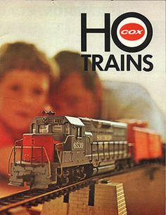 Cox HO Southern Pacific train set