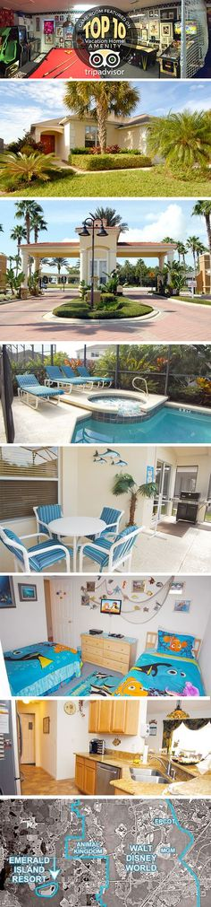 Disney World Vacation Home Rental - with award winning game room, pool, jacuzzi, and more!