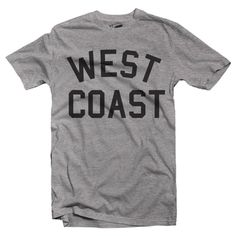 West Coast T Shirt by Hatch For Kids - Adult Unisex Clothing Mens Womens Fashion California Los Angeles Best Coast City Tee - Size XS-XL by HatchForKids on Etsy https://www.etsy.com/listing/511810688/west-coast-t-shirt-by-hatch-for-kids