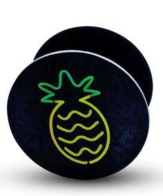 Look at this #zulilyfind! Pineapple Neon Phone Socket #zulilyfinds