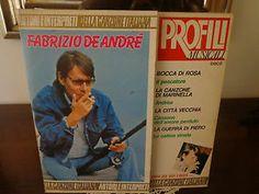 LP - FABRIZIO DE ANDRE' - PROFILI