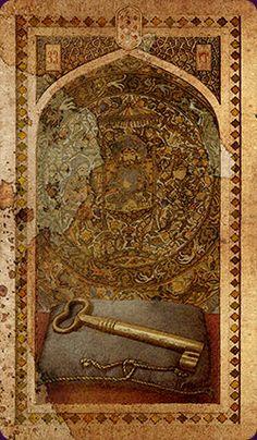 Old Arabian Lenormand- The Key -If you love Tarot, visit me at www.WhiteRabbitTarot.com