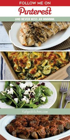 Kalyn's Printer Friendly Recipes: Low-Carb Zucchini Bake with Feta and Thyme