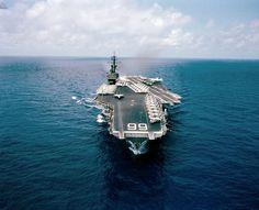 US Aircraft Carrier VIETNAM | USS America CV 66 Transitting Suez Canal 5 5 81 Photo | eBay