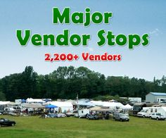 Major Vendor Stops - 127 Yard Sale